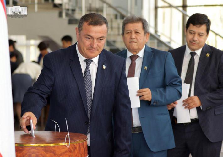 И.о. хокима столицы избран сенатором Олий Мажлиса Республики Узбекистан
